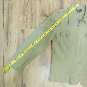 Rafaella Jackets & Coats - Womens Rafaella Sz 6 Blazer Coat Jacket, Military
